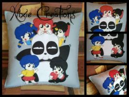 Ranma 1/2 Pillow by NixieCreations