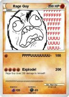 Rage Guy Pokemon Card by XMSB