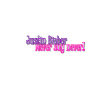 Justin Bieber PNG text by GirlsWannaHaveFunn