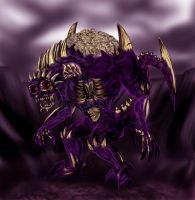 Death Colossus Abazeal by shinragod