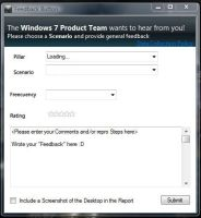 Windows 7 Feedback by Bush1do