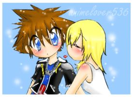 I love you sora :collab: by AnimeLover536