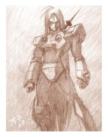 Zero pencil drawing for PMM by pumpkinsareholy