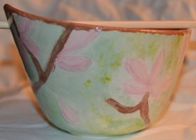 Cherry Blossom Bowl Side 2 by Wingedisis16