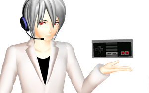 MMD - NES Gamepad Download by AiDR