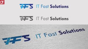 Logo - IT Fast Solutions by artdigitalazax