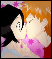 IchiRuki- Surprise Kiss by 36-May-36