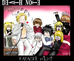 Death Note Karaoke Night by generaltifa