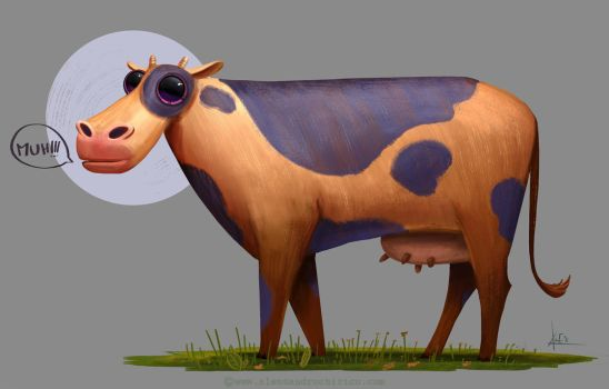 A cow by C0ldsight