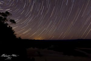 Star Trails 1 by FireflyPhotosAust
