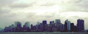 Skyline NYC by wreckles