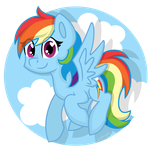 Dashie by partylikeapegasister