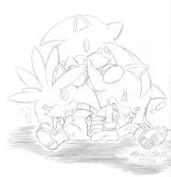 Sonic Chibies by SupaSilver
