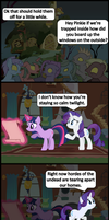 2 Rarity speaks by bronybyexception