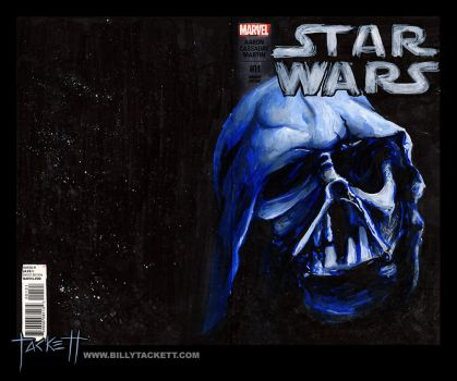 Star Wars Sketch Cover by billytackett