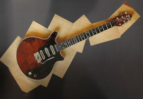 "Burns ""Red Special"" BHM3368 by Fox82"