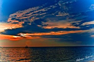 Pattaya Sun Set by mohsinkhawar