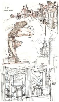France Sketches 2 by TerryDodson