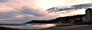 Panoramic Sunset by Braioz