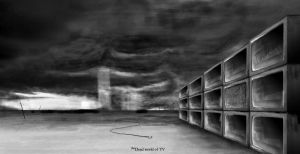 The Dead world of TV by l30