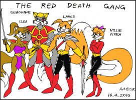 Villie And The Red Death Gang by Megamink1997