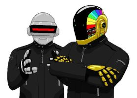 Daft Punk by Arborix