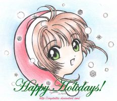 Happy Holidays from Sakura by snowygem