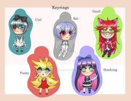 Keyrings 2 by Chao-Illustrations