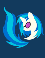 Emblem of Harmony - Vinyl Scratch (DJ Pon3) by kinokashi