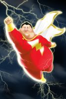SHAZAAAMMM!!! Capt. Marvel gone SuperFat by gwinchy