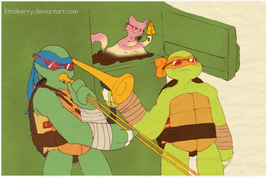 Ninja turtles by emaberry on deviantart for This isn t my beautiful house