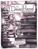 The Dead Hand Used Bookstore Concept art by AmeliaDDraws