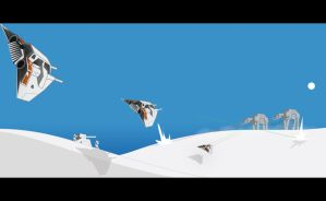 Cold battle at Hoth by AugustoSasa