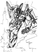 Starscream - redesign by Ccamang