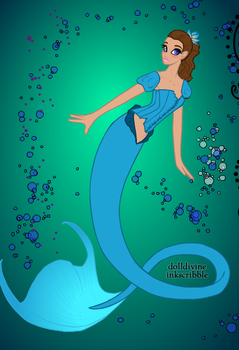 The new mermaid in the Lagoon by WDisneyRP-Wendy