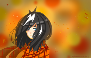 .:Quick Drawing:. Autumn by NightSummerRain