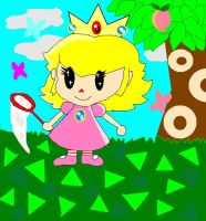 Peach in AnimalCrossing by princesspeach08