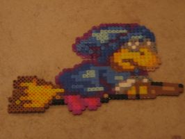 Kamek Bead Sprite by WickedAwesomeMario81