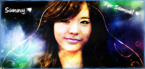 Signature Sunny SNSD (Girl's Generation) by SuperBrioche