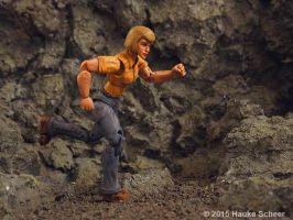 3D printed female figure running articulation test by hauke3000