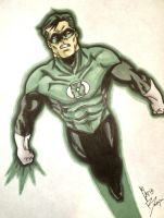 Green Lantern - Hal Jordan by crowshot27