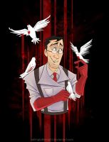 Medic and his Doves by CallingToTheNight