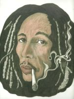 Bob Marley In Color by donna-j