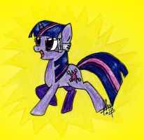 Twilight Sparkle - DIGIral glasses by digiral