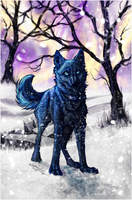 WR.:.Blue.:.Own Little World:. by WhiteSpiritWolf