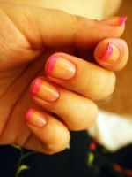 Barbie's French manicure by notannounced