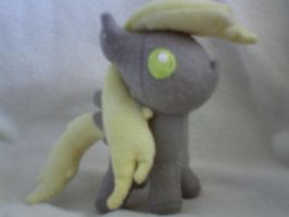 Derpy filly plush by millylilly14