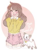 Bee and PuppyCat by qtsie