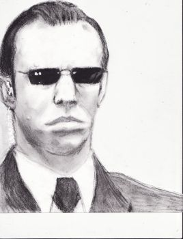 Agent Smith by Tashxfiles