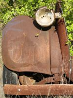 Rusty Car Frame 3 by Altaria13-Stock